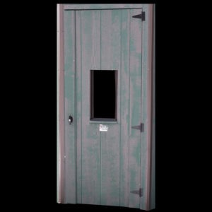 Side Entry with Man Door